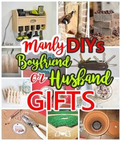 Do it yourself gift basket ideas for any and all occasions crafts manly do it yourself boyfriend and husband gift ideas masculine diy crafts projects boyfriends solutioingenieria