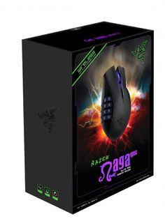 Save 23n The Razer Naga Epic Rechargable Wireless MMO PC Gaming Mouse