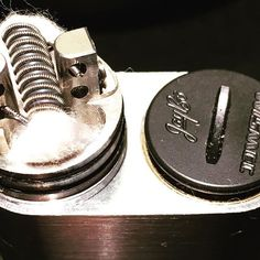 Single 10 wrap staged Clapton 0.54 ohms, on a Velocity/Noisy Cricket setup  There's nothing tame about it...'tis but the crack pipe of mods this is. #vapeporn #coilporn #vapeallday #vape #ukvape #ukvapers #ukvapefam #vapecommunity #vapelyfe #vapeon #vapestagram #vapenation #vapelove