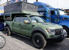 How does Rikki Rockett, the drummer from Poison, wind up off-road and off-the-grid in a Ford Raptor Camper? Pickup Camping, Truck Camping, Tent Camping, Camping Ideas, Glamping, Overland Truck, Overland Trailer, Tiny Camper, Popup Camper