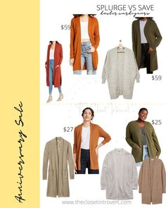 long duster cardigan chunky knits for fall. cozy basics on a budget Long Duster Cardigan, Wrap Cardigan, Duster Coat, Hot Tickets, Chunky Knits, Nordstrom Sale, Barefoot Dreams, Look Alike, Anniversary Sale
