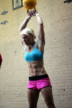 Women Kettlebell Swing CrossFit - Crossfit training is some of the top complete body workouts