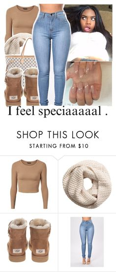 """""""Untitled #166"""" by jayythegreatest ❤ liked on Polyvore featuring H&M, Louis Vuitton and UGG Australia"""