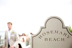 A Rosemary Beach wedding produces a storybook romance that is unparalleled. With its eternal beachside setting, sugar white sand & European ambiance, it is a dream location for any wedding celebration. www.rosemarybeach.com
