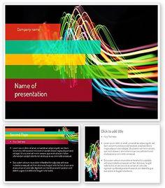 http://www.poweredtemplate.com/11217/0/index.html Streaming Lights PowerPoint Template