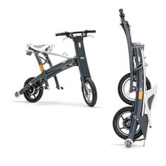 Stigo - The Fastest-Folding Electric Scooter Best Electric Scooter, Electric Bicycle, Electric Cars, Urban Electric, Foldable Electric Bike, Solar Car, Folding Bicycle, Scooters, Bike Style