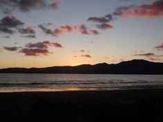 Kapiti Coast sunset from Paraparaumu Beach, Nth Is, NZ 1June2016