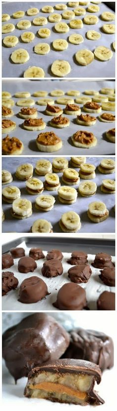 How To Chocolate Covered Frozen Banana Bites