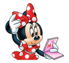 Introducing the all new Minnie Mouse sticker pack! Make your chats cuter than ever with Minnie and her most adorable expressions!