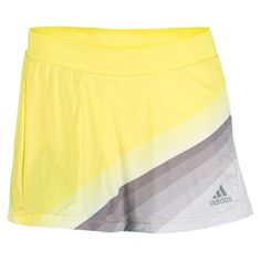 Women`s Adizero Tennis Skort Vivid Yellow/Tech Grey