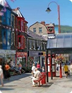 Tonypandy, Rhondda, Wales. my 2nd hometown <3