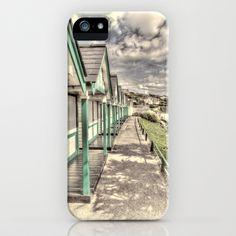 Beach Huts iPhone & iPod Case #beachhuts