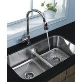 Buy the Vigo Stainless Steel Direct. Shop for the Vigo Stainless Steel Double Bowl 18 Gauge Stainless Steel Kitchen Sink and Single Handle Pull-Out Spray Kitchen Faucet and save.
