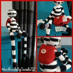 Tigger, Crochet Hooks, Disney Characters, Fictional Characters, Charlotte, Diy Projects, Letters, Knitting, Kids