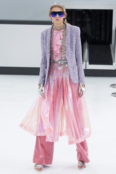 Vogue's 2016 fashion forecast: the trends you'll wear next year: LayeringIt's all about piling on as many pieces as you can. Wrap a jumper around your waist; fling a jacket over your shoulders and anything else you can think of. Seen at Chanel.