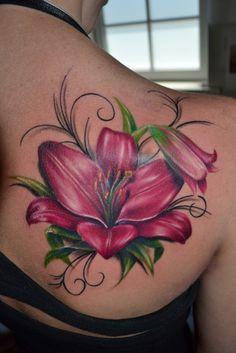Tattoo-Foto: Lilie