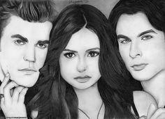 . Vampire Dairies, Diaries, Drawing, Journals, Sketches, Drawings, Writers Notebook, Draw