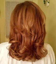 medium+red+layered+haircut