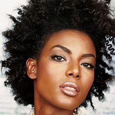black woman afro hair - Google 検索