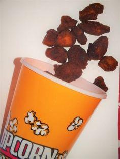 Kuřecí popcorn | Žijeme homemade Popcorn, Dog Food Recipes, Homemade, Home Made, Dog Recipes, Hand Made