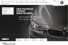 The new Microsite for BMW Switzerland showing all the benefits of SwissAdvantage