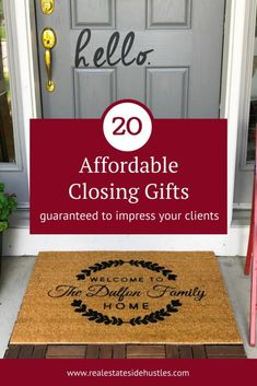 closing gifts for sellers ideas * closing gifts for sellers ; closing gifts for sellers real estate ; closing gifts for sellers ideas Real Estate Gifts, Real Estate Buyers, Real Estate Career, Real Estate Business, Real Estate Marketing, Inmobiliaria Ideas, Gift Ideas, Decor Ideas, Realtor Gifts
