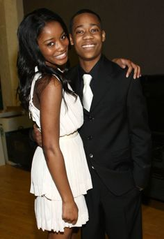 Keke Palmer and Tyler James Williams in 2008. Find out more about them and 20 other old celebrity couples you totally forgot dated.