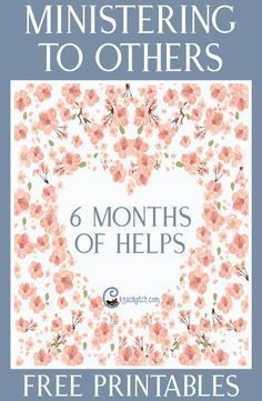 """to Others"""" Teaching Helps and Resources This is so nice! 6 months of helps plus bonus resources for teaching about Ministering to OthersThis is so nice! 6 months of helps plus bonus resources for teaching about Ministering to Others Relief Society Lesson Helps, Relief Society Lessons, Relief Society Activities, Relief Society Handouts, Ministering Lds, Visiting Teaching Handouts, Visiting Teaching Conference, Teaching Ideas, Lds Church"""