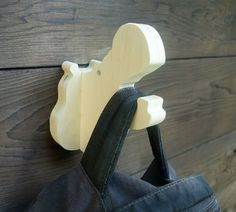 Hippo wall hook: playful plywood animal head wall by thejunglehook