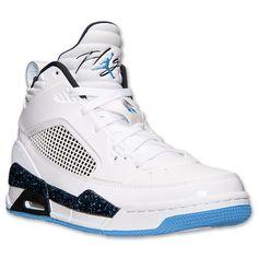 wholesale dealer 56cad f0b7c Men s Jordan Flight 9.5 Basketball Shoes   Finish Line   White Legend Blue  Black
