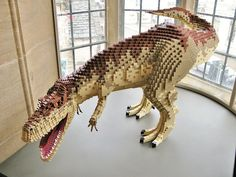 Jurassic Park Toys, Lego Jurassic, Lego Dinosaur, Lego Sculptures, Lego Animals, Amazing Lego Creations, Transformers Characters, Lego Craft, Avengers Superheroes