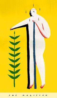 tarot - Thierry Illustration