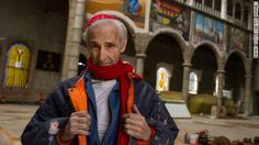 A former Trappist monk has dedicated more than 50 years of his life to constructing his own cathedral in the Spanish town of Mejorada del Campo.