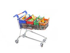 Trolley Bags – Reusable Eco Friendly Shopping Bags to Easily and Safely Bag your Groceries From Your Cart