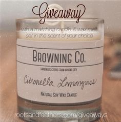 Giveaway on Roots and feathers blog