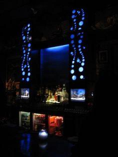 love the under water theme at Thalassa Bar