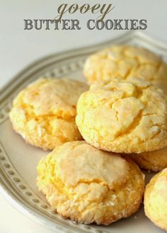 """Gooey Butter Cookies Recipe """"Very Delicious Cookies"""" #delicious #recipe #cake #desserts #dessertrecipes #yummy #delicious #food #sweet"""