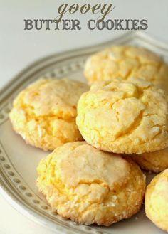 """Gooey Butter Cookies Recipe  """"Very Delicious Cookies"""""""