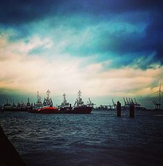 Hamburg Elbe Foto: Nicole Korzonnek