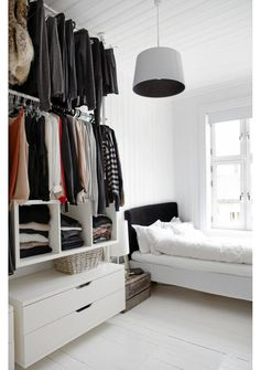 always wanted an open wardrobe. I dont bother when the doors closed.