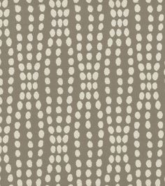 Waverly Strands Fabric, Sterling - contemporary - upholstery fabric - - by Jo-Ann Fabric and Craft Store