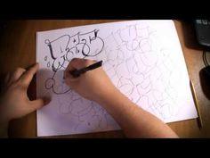 Alphabet Graffiti (Bubble) - Mazes - YouTube