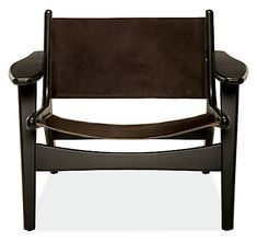 Lars Leather Lounge Chair - Modern Recliners & Lounge Chairs - Modern Living Room Furniture - Room & Board