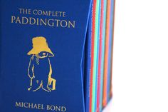 Complete Paddington Box Set, Harper Collins UK. Collector's Box Set featuring slipcase with real cloth and gold foil blocking. Books are all cloth covered, debossed, foil stamped and gilt edged.
