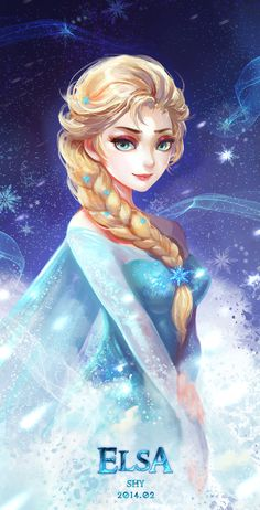Frozen - Elsa by Shy (ID: 9917825)