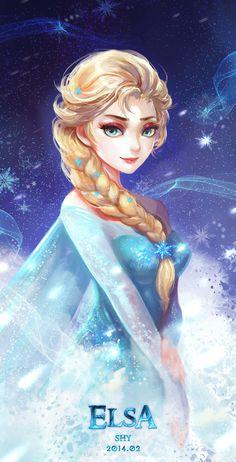 Frozen - Elsa by Shy (ID: 9917825)