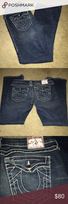 True Religion Jeans EUC Size 29 True Religion Jeans EUC Size 29 inseam approx 30 inches True Religion Jeans Boot Cut