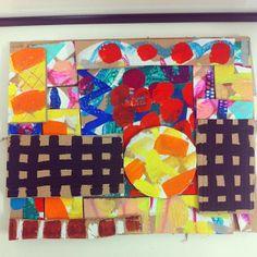 Judith Bryony Farr acrylic and gouache on cardboard