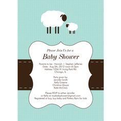 Cute Lamb Printable Baby Shower Invitation | Baby | Pinterest | Cute Lamb,  Babies And Showers