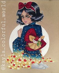 Kimono Snow White